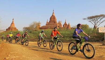 Guided Morning Bike Tour In Bagan