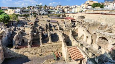 From Sorrento: Half-Day Private Herculaneum Tour By Minivan