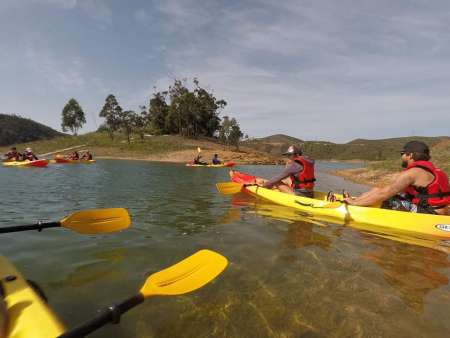 Algarve: Kayaking Tour In The Arade River Dam