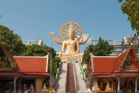 Wat Phra Yai: Big Buddha Temple