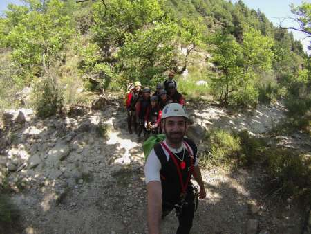 Xylokastro: Canyoning Experience In The Agios Loukas Canyon