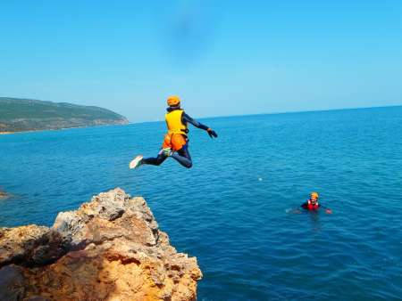 3-Hour Soft Coasteering Tour In Arrábida, Near Lisbon
