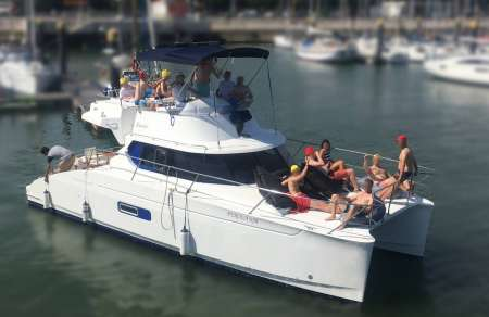 Lisbon: 4-Hour Private Catamaran Tour With Barbecue