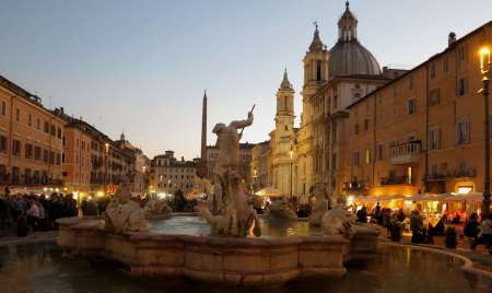 Rome: 3-Hour Evening Walking Tour In The Piazzas And Monuments