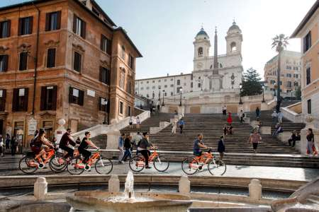 Rome: Private Full-Day Bike Tour Of The City Centre