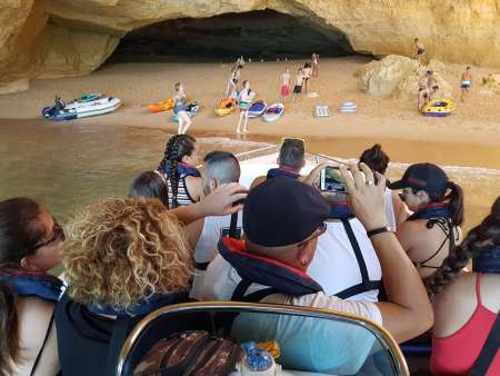 2-Hours Private Visit To The Caves Between Portimão And Benagil