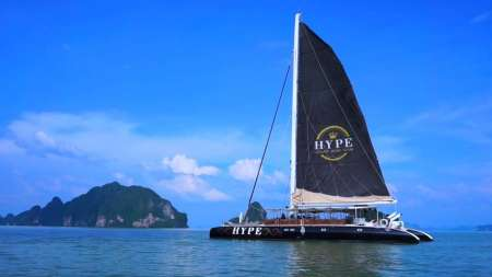 Full-Day Tour On Luxury Sailing Catamaran In Phuket