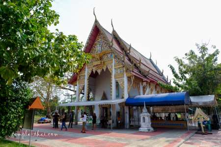 Wat Thong Khung of Amphawa