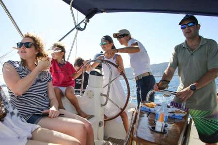Barcelona: Private 8-Hour Sailboat Tour
