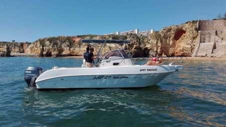 Lagos: Private Powerboat Charter In Algarve
