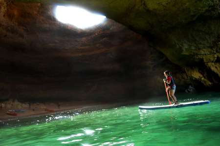Benagil Cave Kayak & Stand-Up-Paddle Tour From Portimão Marina