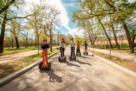 Madrid: Guided Segway Tour And Visit To Retiro Park