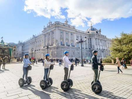 Madrid Guided Segway Tour: Old Town Highlights