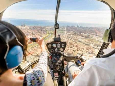 Barcelona: Vuelo Privado En Helicóptero De 10 Minutos