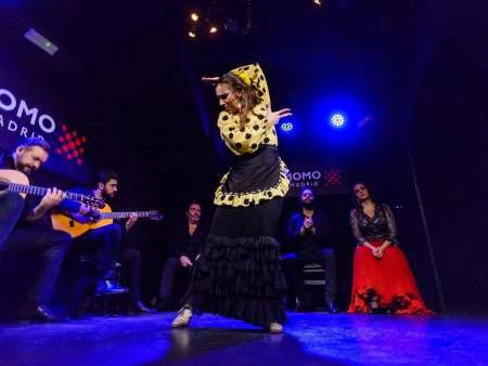 Madrid: Walking Tour And Flamenco Dance Workshop