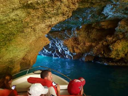 1-Hour Benagil Boat Trip From Carvoeiro Beach