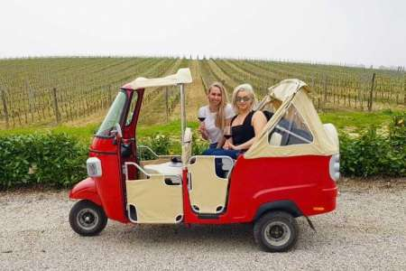 From Florence: Fun Tuk Tuk Experience Of Tuscany For 2