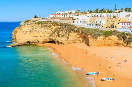 From Portimão: 2-Hours Boat Tour To Visit Carvoeiro, Benagil Caves And Marinha Beach