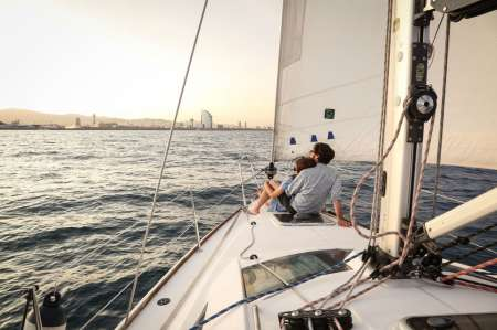 Private 4-Hours Sailboat Tour In Barcelona