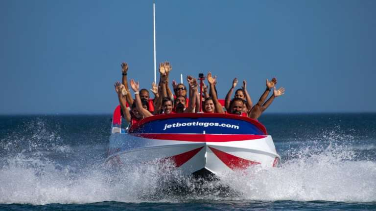 Lagos: 45-Minute Jet Boat Ride