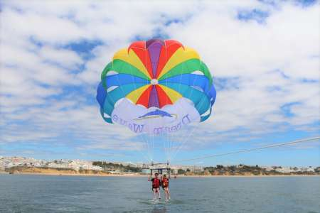 Parasailing Flight In Albufeira, Algarve
