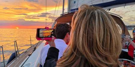 Private Sunset Tour In Lisbon On A Luxury Sailing Yacht