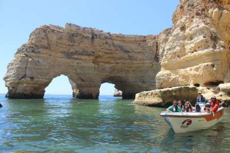 1-Hour Boat Tour To The Sea Caves Between Armação De Pêra And Benagil