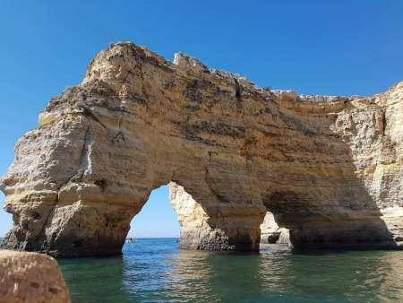Kayak Tour Of Benagil Cave – Departure From Marinha Beach