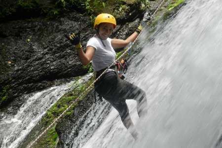 From Panama City: Rappel And Hot Springs Tour In The Anton Valley Tropical Forest