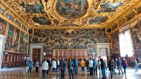 Venise: Billets Coupe-File Et Visites Guidées Du Palais Des Doges Et De La Basilique Saint-Marc