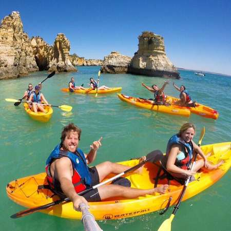 Kayak Tour In Ponta da Piedade
