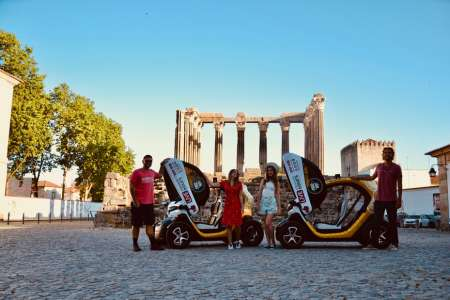 Elektroauto-Tour Im Historischen Zentrum Von Évora Mit Gps-Audioguide