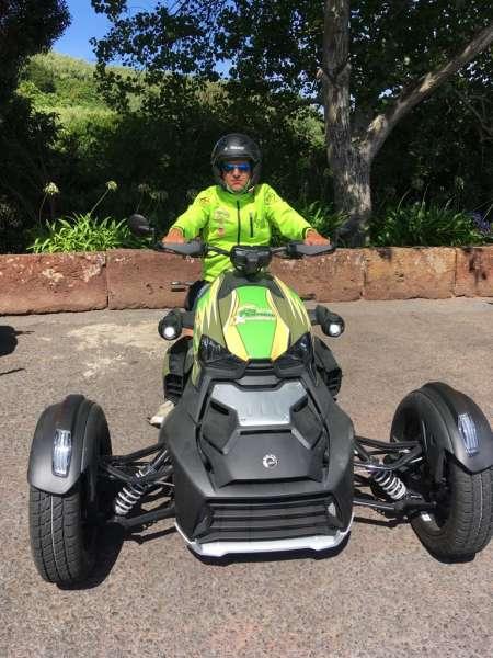 Île São Miguel: Conduisez Une Moto 3 Roues Autour De Lagoa Das Sete Cidades