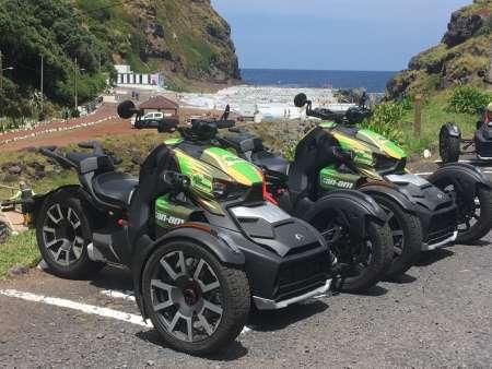 Ilha De São Miguel: Conduza Uma Motocicleta De 3 Rodas Ao Redor Da Lagoa Do Fogo