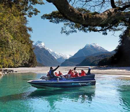 From Queenstown: Scenic Flight & Cruise In Milford Sound & Jet Boat Ride In Dart River