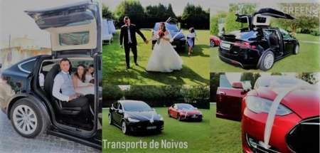 Aluguel De Viaturas Tesla Para Casamentos No Porto