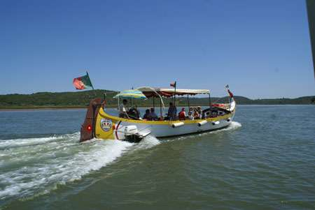 Rise From Arade River To Silves On Traditional Boat