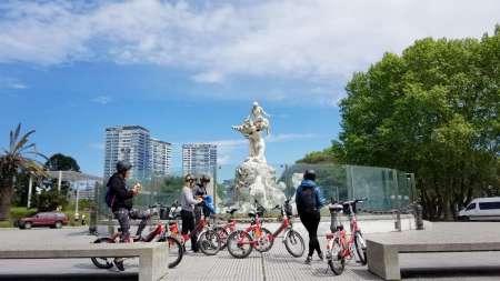 Grande Expérience De L'e-Bike À Buenos Aires
