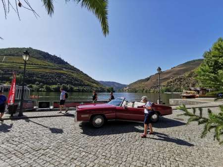 Classic Car Tour In Douro Valley, With Lunch, Boat Trip & Wine Tasting