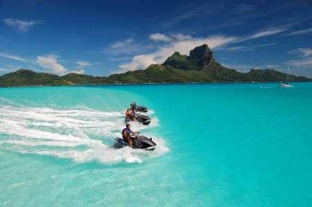 Bora Bora: 2-Stündige Jet-Ski-Führung