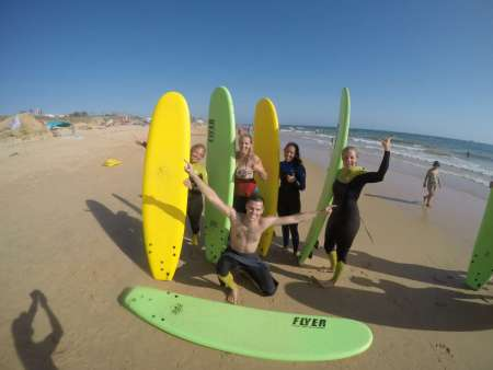 Albufeira: 2-Hour Surf Lesson For Small-Groups
