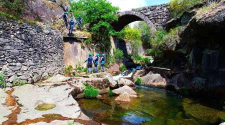 Water Canyoning Experience In The Peneda-Gerês National Park