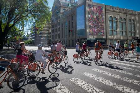 5-Hour Bike Rental In Buenos Aires