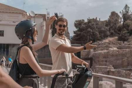 Malaga: 1-Hour Panoramic Segway Tour