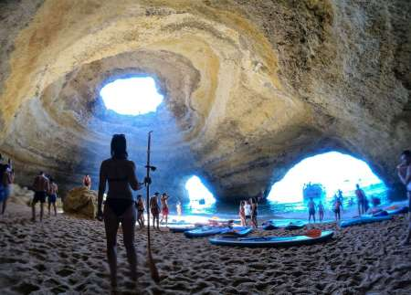 Algarve: Stand Up Paddle Tour Zur Benagil Höhle