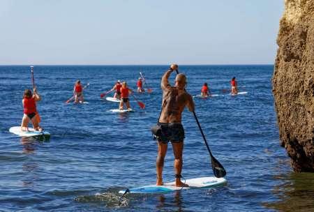 Algarve: Stand Up Paddle Tour A La Cueva Benagil