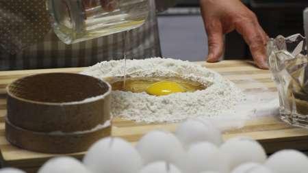 Show Cooking: Die Realisierung Von Dessert Cecio Ripieno