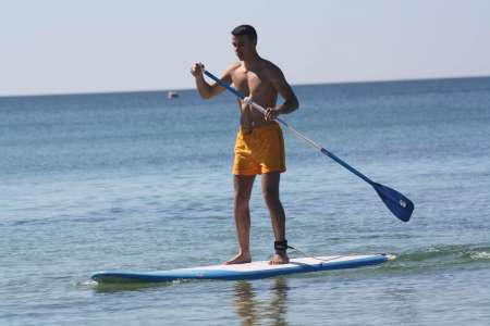 Algarve: Stand Up Paddle In Armação De Pêra Beach