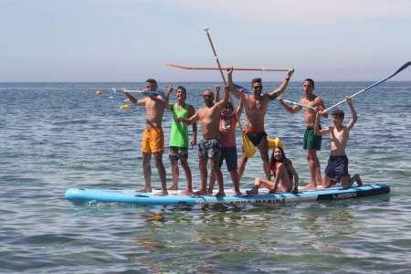 Armação De Pêra: Experience For Groups In Mega Stand-Up-Paddle