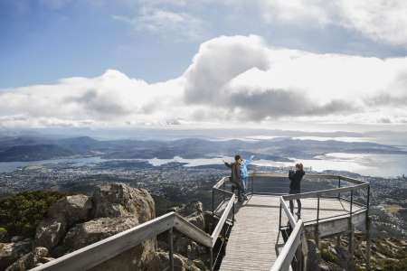 Excursão Terrestre Em Hobart: Mount Wellington Bonorong Wildlife Park E Richmond Villa